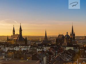 Aachen am morgen