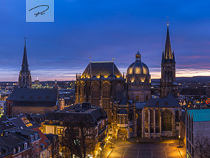 Aachener Dom Panorama