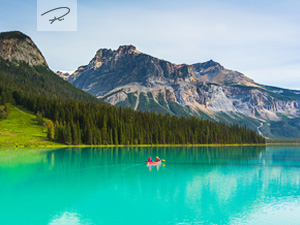 Emerald Lake in Kanada - British Columbia