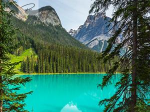 Blick auf den Emerald Lake in Kanada - Panorama - British Columbia