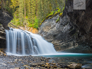 Johnston Canyon Wasserfall in Kanada - Alberta