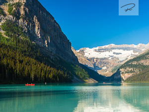 Lake Louise in Alberta Kanada