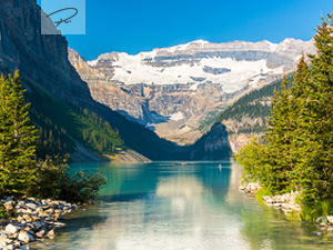 Lake Louise im Alberta banff national park - Kanada
