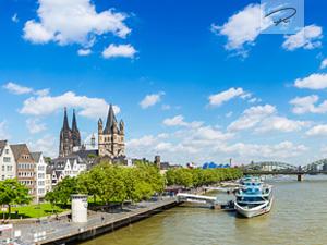 Köln im Sommer Panorama