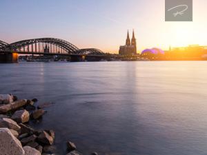 Köln am Rheinufer