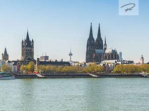Köln im Frühling Panorama