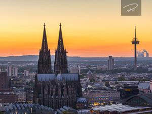 Kölner Dom sunset