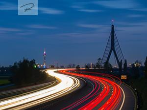 Autobahn nach Düsseldorf