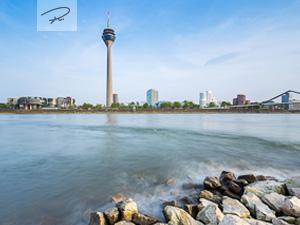 Düsseldorf rheinblick