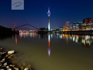 D�sseldorf bei nacht