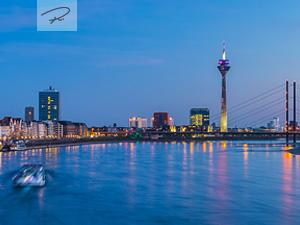 Düsseldorf Blaue Stunde