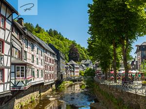 Monschau Altstadt panorama
