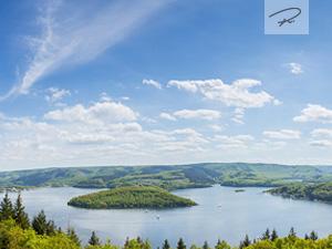 Rursee eifelblick panorama