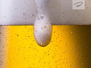 �berlaufendes Bier