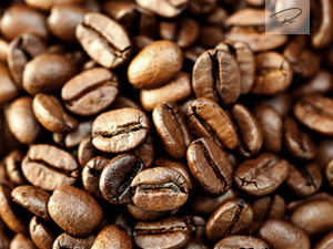 ger�stete kaffeebohnen