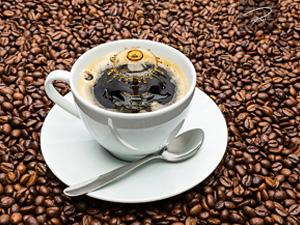 Kaffeetasse tropfen
