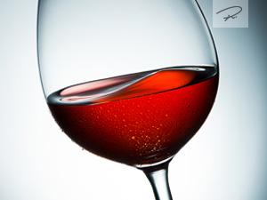 Wein schwenken