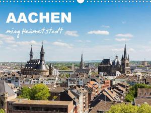 Aachen - ming Heämetstadt (Wandkalender 2016 DIN A4 quer)