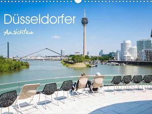 Düsseldorfer - Ansichten (Wandkalender 2016 DIN A4 quer)
