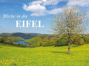 Blicke in die Eifel (Wandkalender 2016 DIN A4 quer)