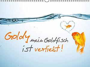 Goldy mein Goldfisch ist verliebt! (Wandkalender 2016 DIN A4 quer)