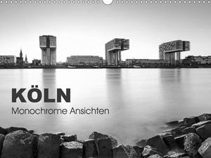 K�ln - monochrome Ansichten (Wandkalender 2016 DIN A4 quer)