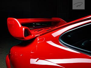Porsche 911 GT2 Roter Sportwagen