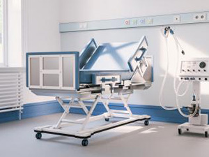 Empty intensive care bed with ventilator in the intensive care unit of a clinic during Covid-19 or coronavirus : Stockfoto oder Stockvideo und Fotos, Bilder, Stockmedien von rcfotostock | RC-Photo-Stock
