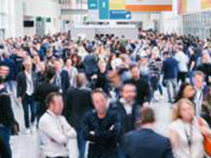 large crowd of anonymous blurred people at a trade show : Stockfoto oder Stockvideo und Fotos, Bilder, Stockmedien von rcfotostock | RC-Photo-Stock